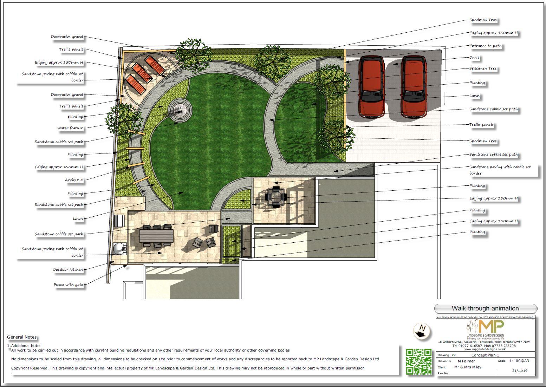 1, Landscape designer Wakefield, Concept plan-1