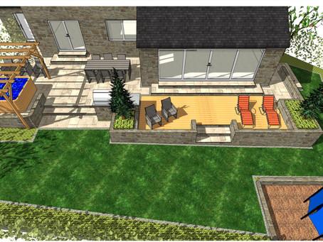 Landscape design, Badsworth