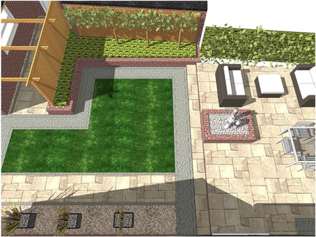 Garden design, Walton