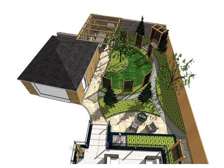 Garden design, Ackworth