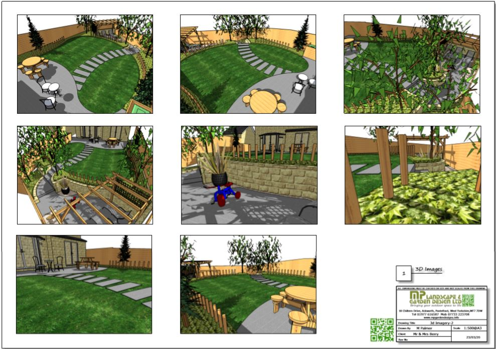 8, Concept plan-2, 3D images for a new build property in Wakefield