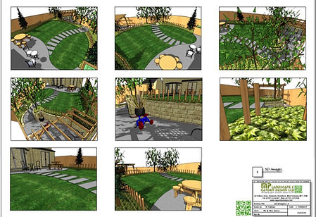 8, Concept plan-2, 3D images for a new b