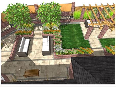 Landscape design Darrington