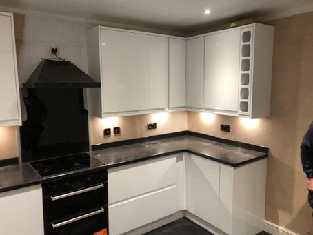 Fitted kitchen, Leeds
