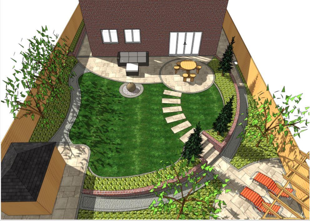 1, Garden design, overview, Wakefield