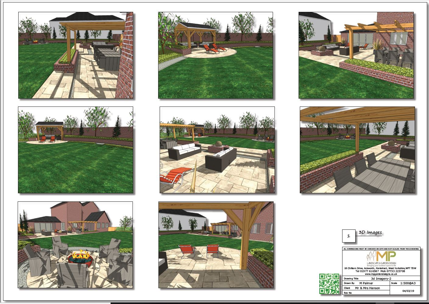 Concept plans-2 for a property in Wakefield, West Yorkshire.