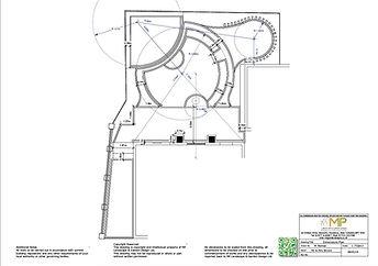 Garden design Dimensions Plan, Wakefield