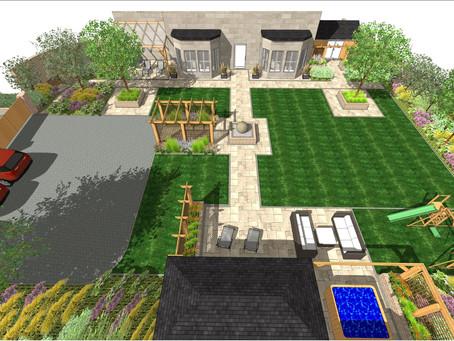 Landscape design, Wakefield.