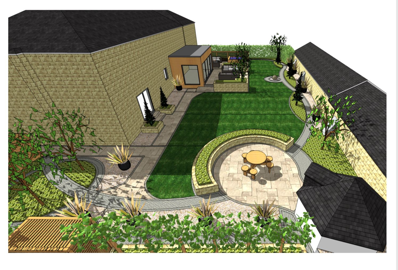 Overview-2, Landscape design Kirk Smeaton