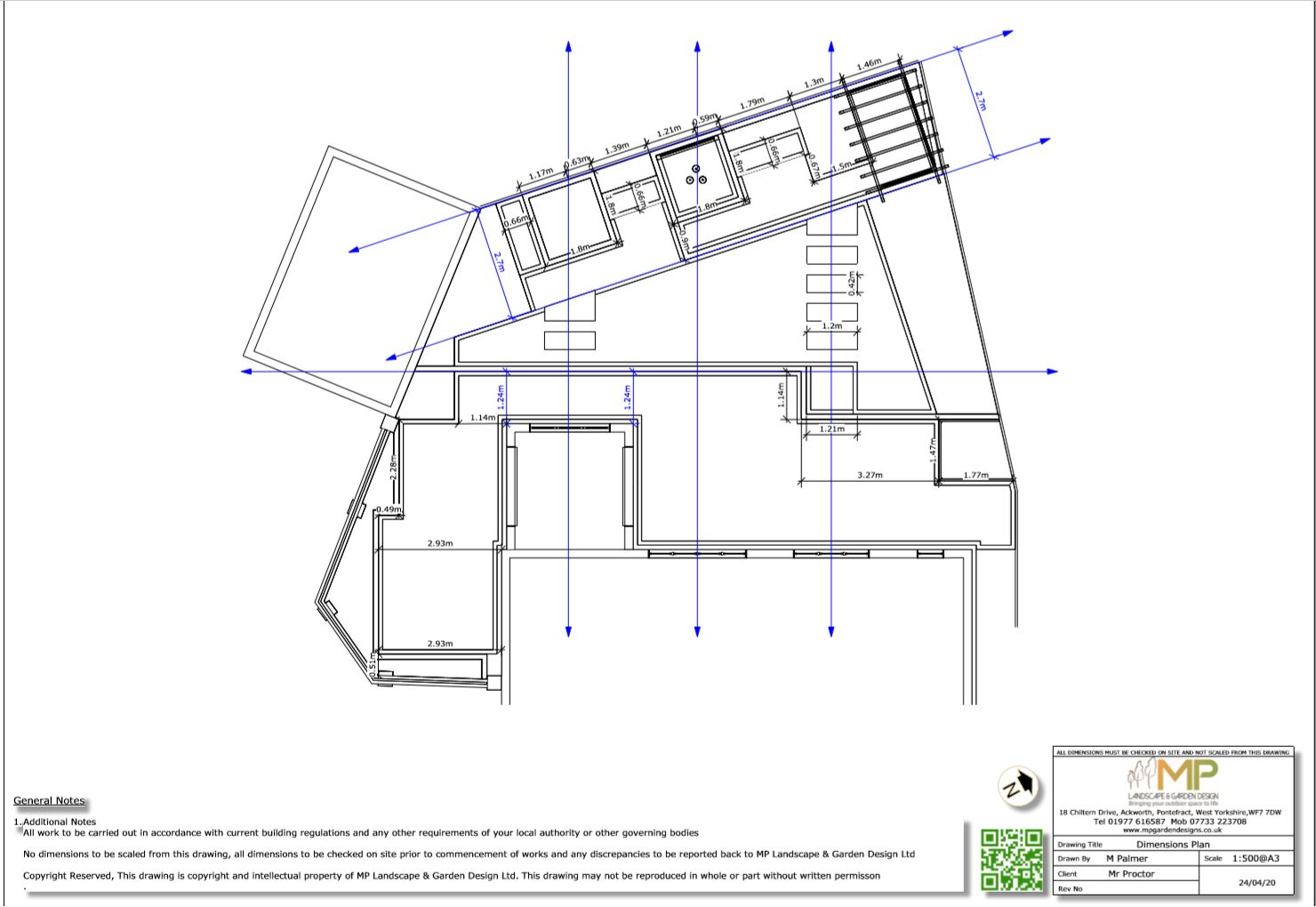 5, Dimensions for a rear garden South Kirkby