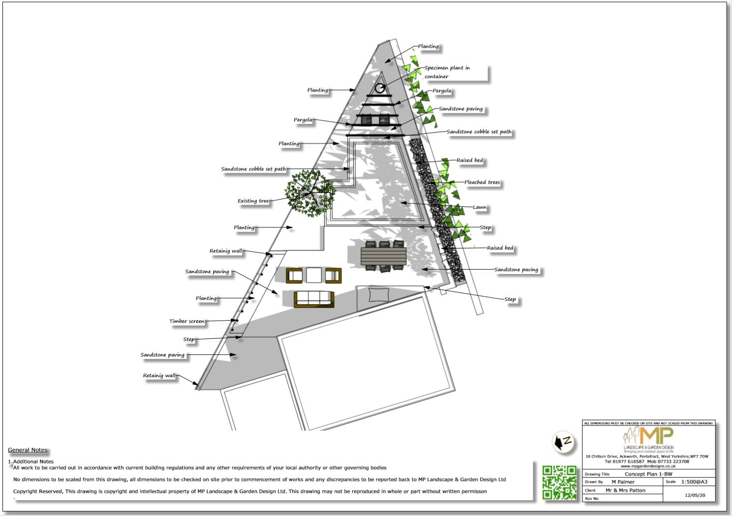 3, Concept plan-1, Stanley, Wakefield