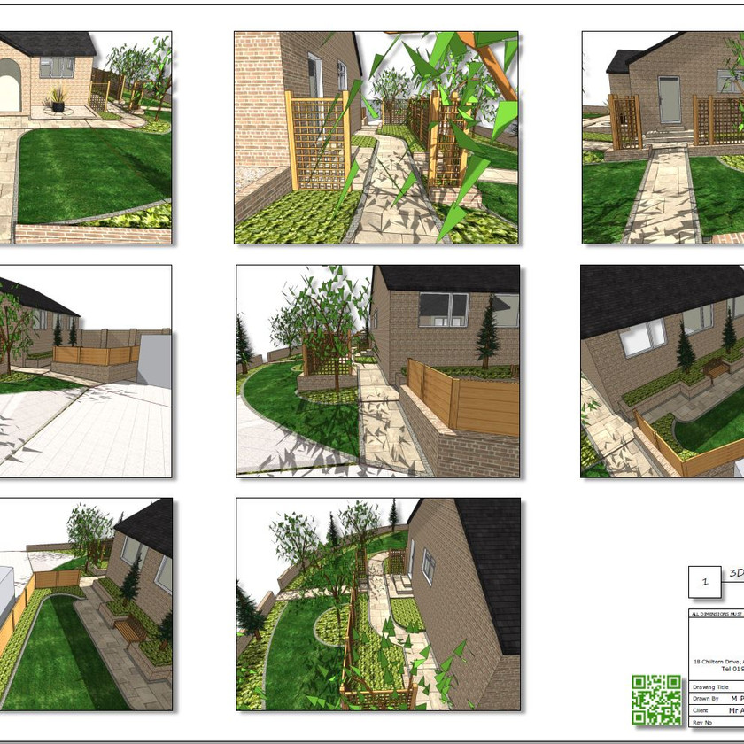 6, Concept plan 3D images-2 for a property in Featherstone.