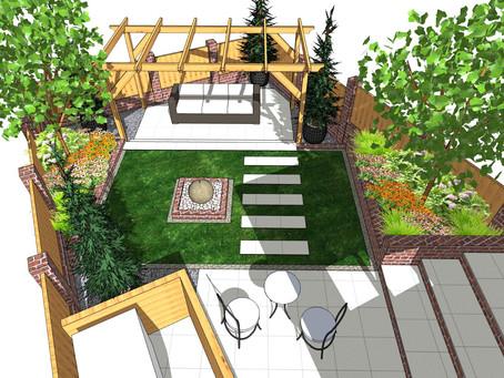 Garden design in Ackworth