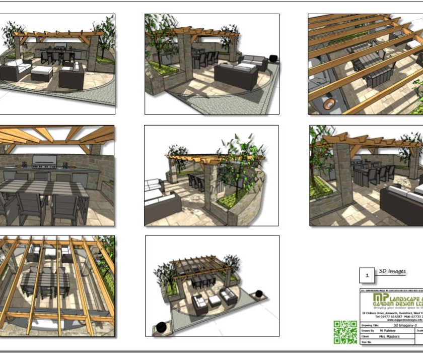 6, Concept plan 2, 3D images for property in Barnsley