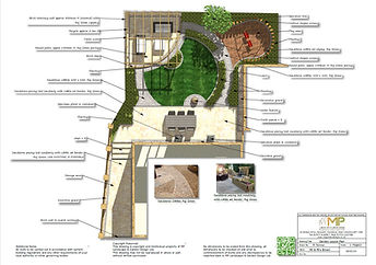 Garden design, Garden Layout Plan, Wakefield