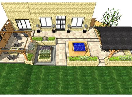 Patio design, Wakefield