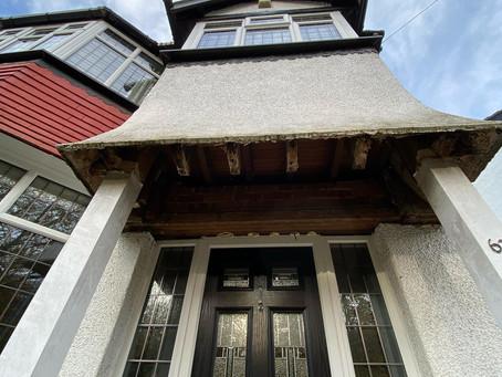 Porch repair, Leeds