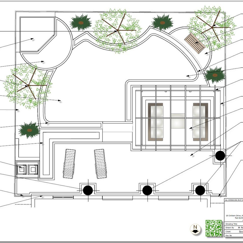 5, Black and white concept plan-2 for a property in Wakefield