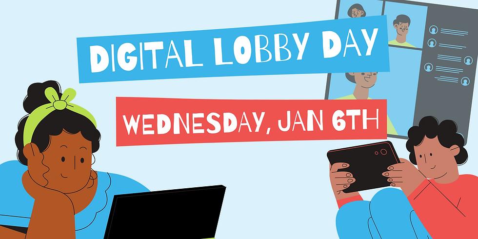 WCRJ Digital Lobby Day
