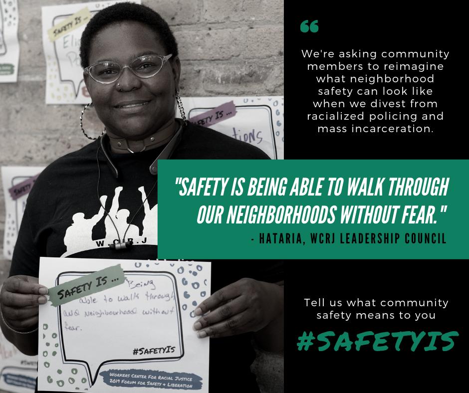#SafetyIs