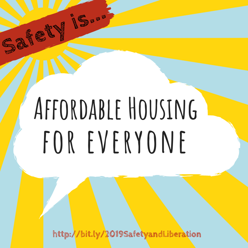 Safety is Affordable Housing