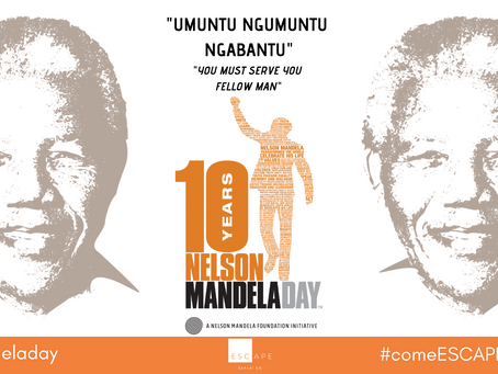 "Mandela Day 2019: ""The Next Chapter"""