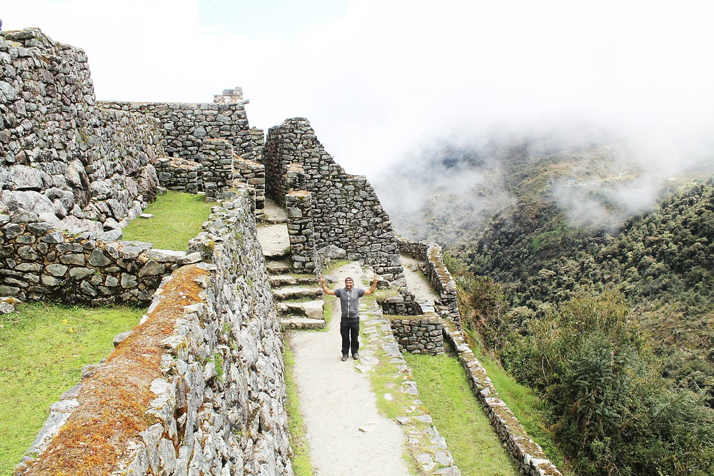 A visit to one of the many ruins along the way... views are guaranteed.