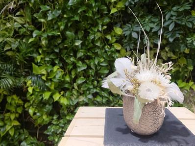 pot arrangement(weiss)