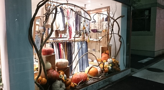 window display @tokyo sendagaya