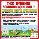TKDK 6. Çağrı'da Erzincan'da sunmuş olduğumuz toplamda yaklaşık 7 milyon bütçeli 4 projemiz