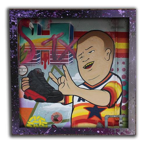 Bobby Trill Astros 12 inch Print & Frame