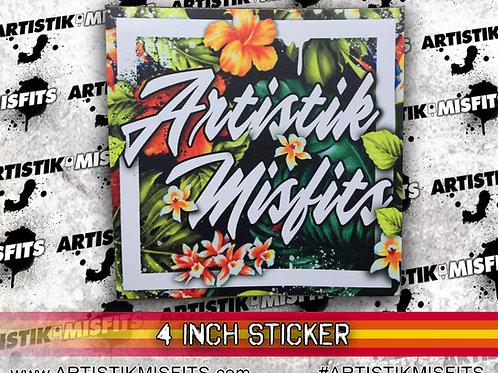 Artistik Misfits Sticker