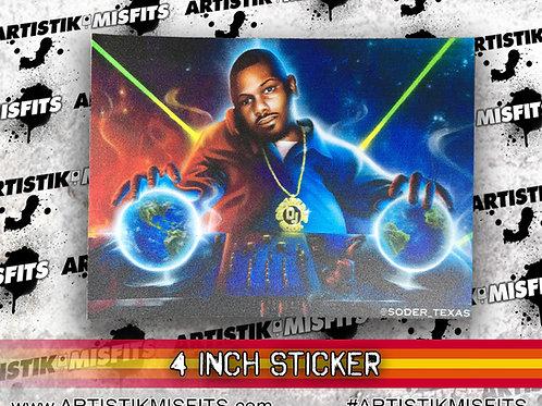 Screw The World Sticker
