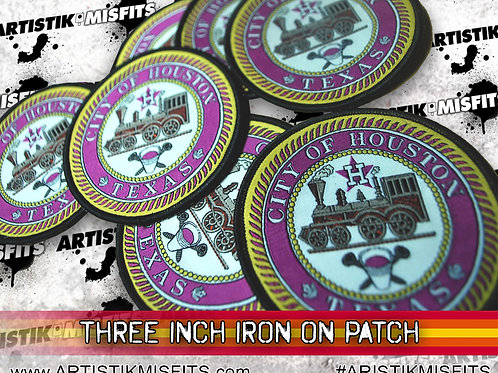 City Of Houston Iron On Patch