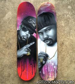Pimp C & Dj Screw Skateboard Decks