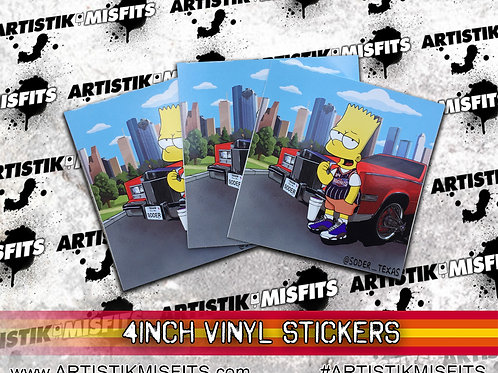 Bart Trill Sticker