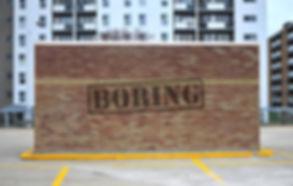 Boring Blank Wall