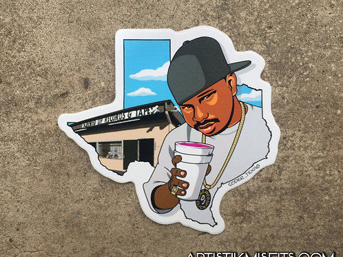 Dj Screw Sticker