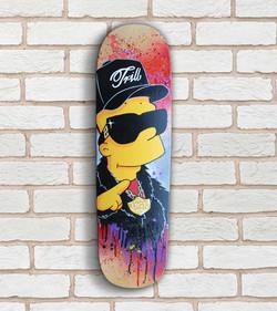 PimpC Bart Trill Skateboard Deck