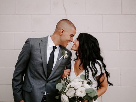 Micro-Wedding: Cortney + Shane