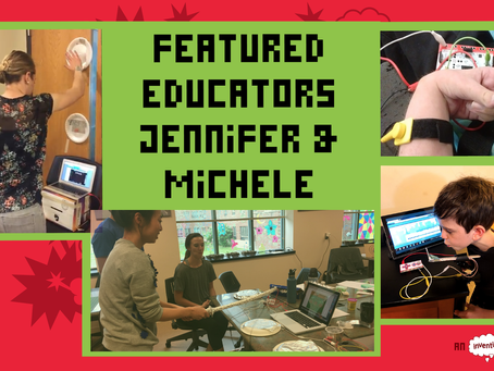 We're this month's featured educators!