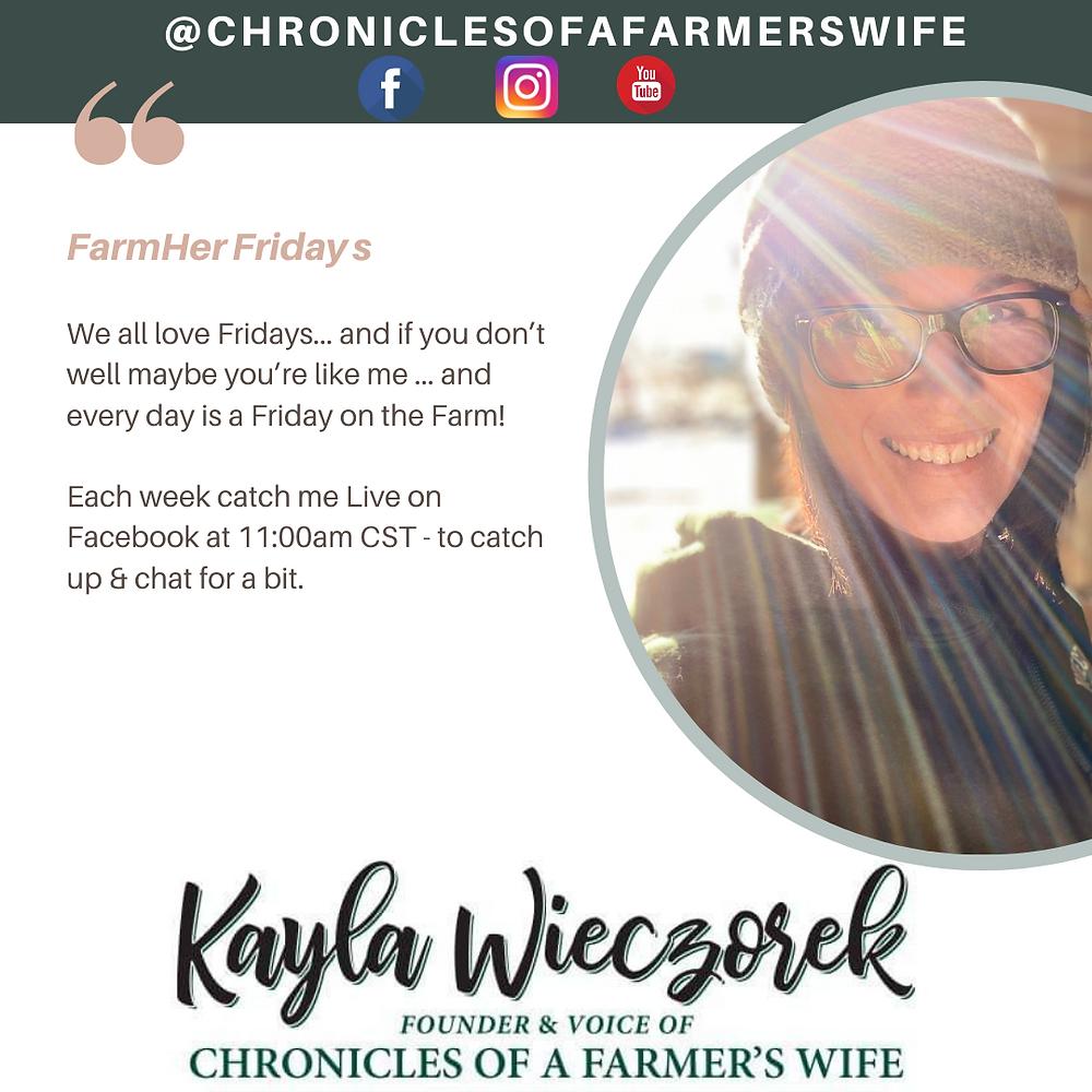 Farm Life - Farm Wife - Wrangling kids, cattle & a husband too'