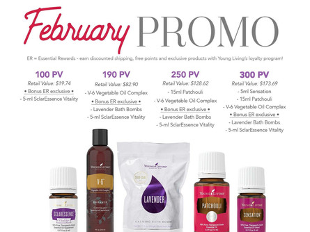 Chronicles of a Farmers Wife …. February ER with Young Living