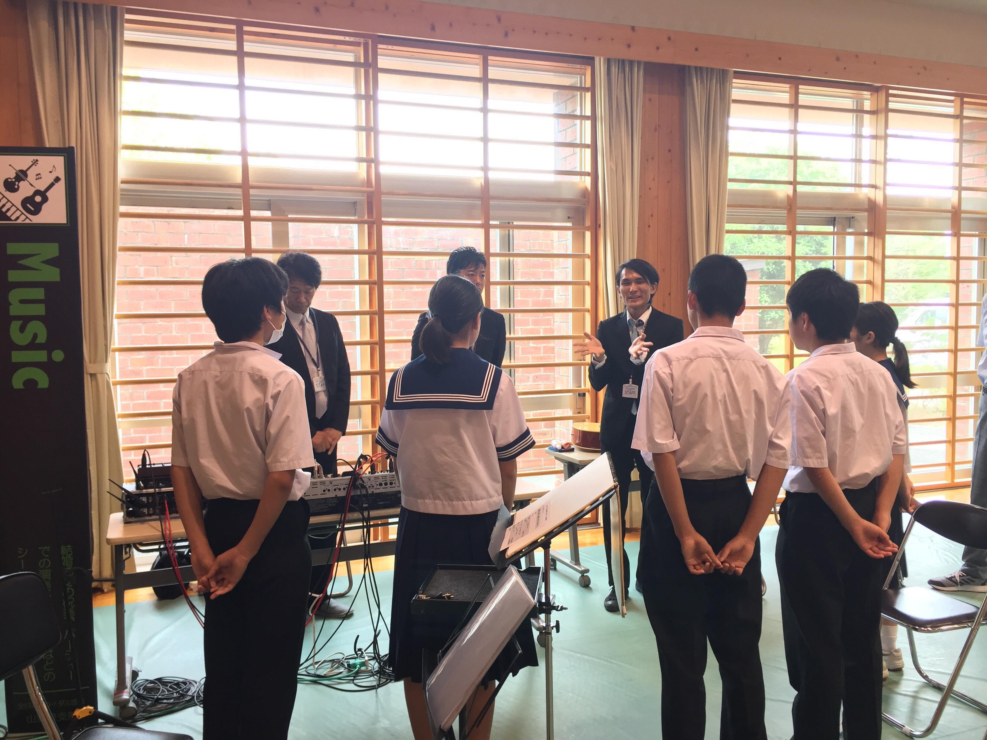 韮崎西中学校 学校ウエディング 当日-11