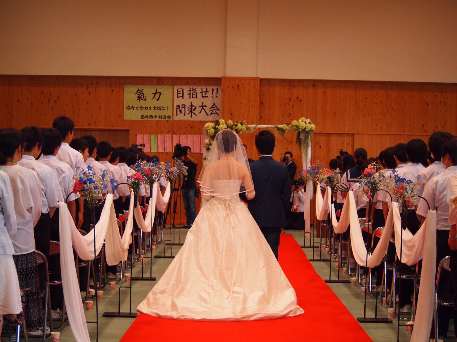 韮崎西中学校 学校ウエディング 当日-20