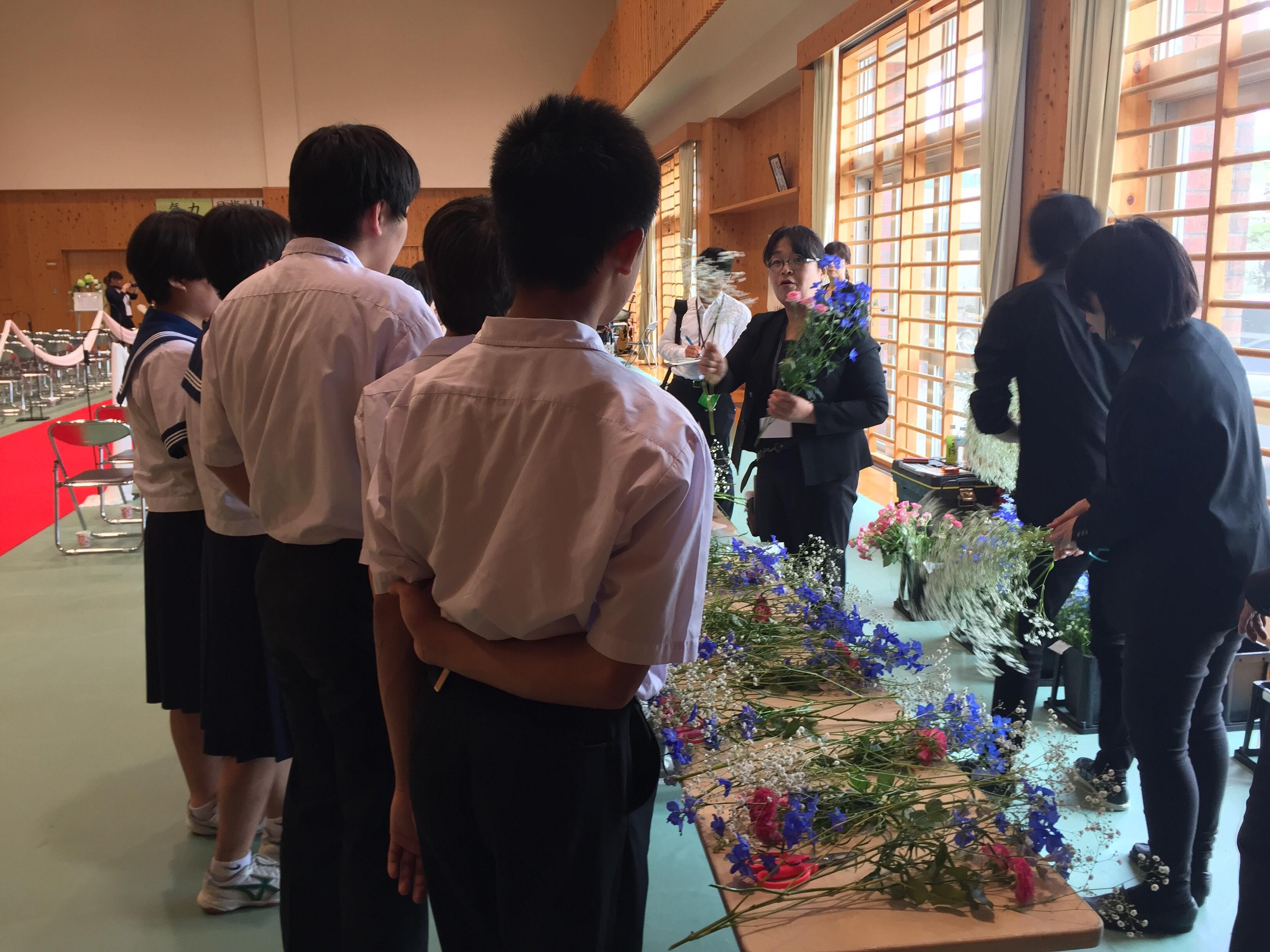 韮崎西中学校 学校ウエディング 当日-13