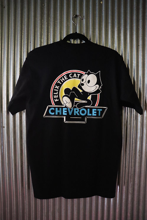 "FELIX CHEVROLET""FELIX THE CAT""Tshirt"