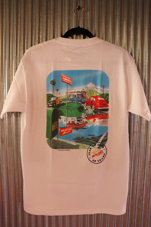 """In-N-Out BURGER T""""1988 40TH ANNIVERSARY"""""""