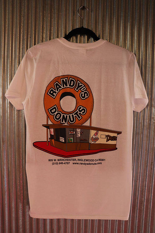 RANDY'S DOUNUTS officialTshirt WHITE