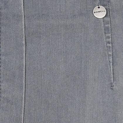 Robell - Model Bella - Jeans - Midden Grijs